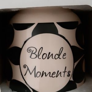 Blonde Moments jar. New in box
